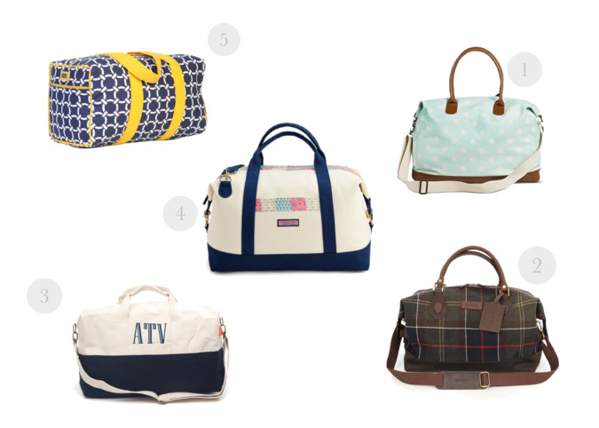 Weekender Bags for the Prepster